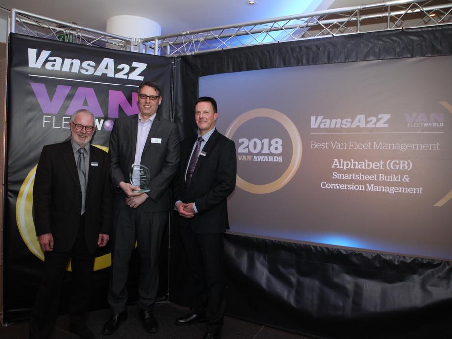 alphabet recognised for best van fleet management in 2018 van awards alphabet. Black Bedroom Furniture Sets. Home Design Ideas